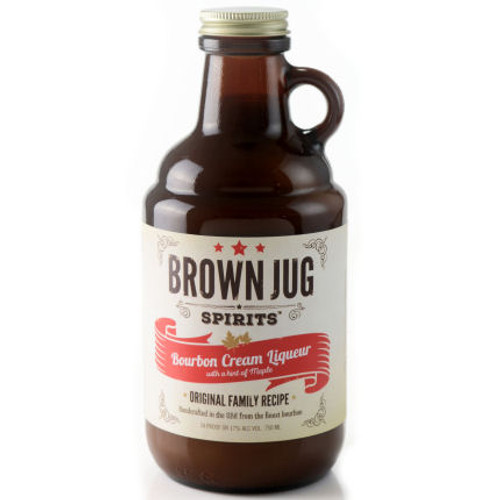 Brown Jug Bourbon Cream Liqueur 750ml