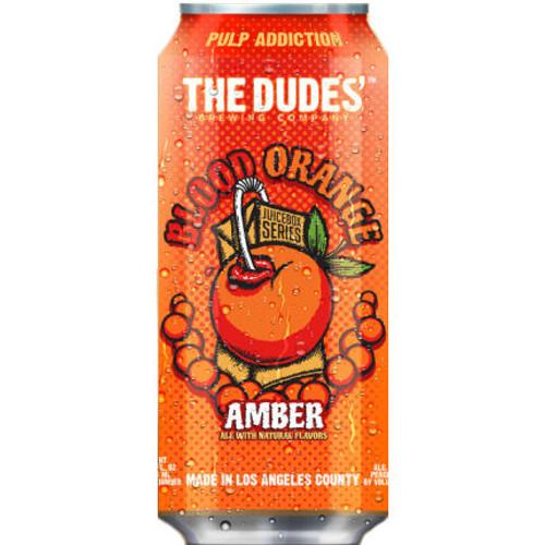 The Dudes Juicebox Series Blood Orange Amber 16oz 4 Pack Cans