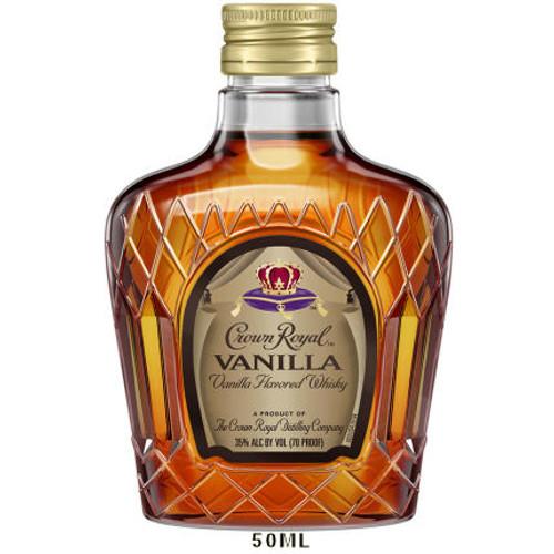 50ml Mini Crown Royal Vanilla Canadian Whisky