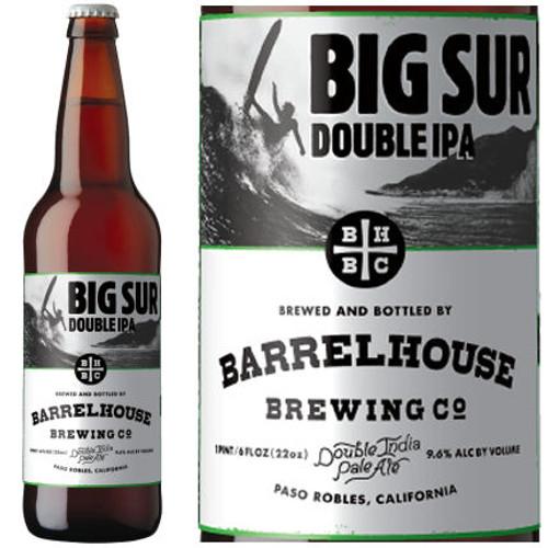 BarrelHouse Brewing Big Sur Double IPA 22oz