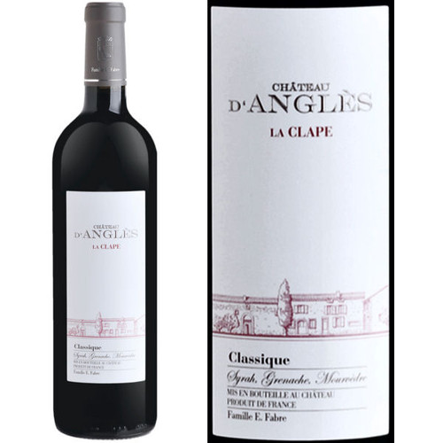 Chateau d'Angles La Clape Languedoc Grand Vin Red