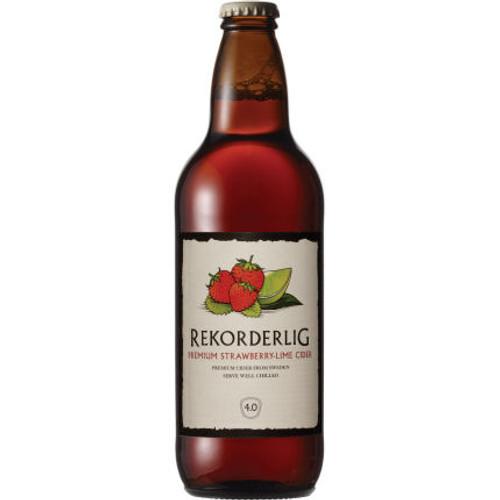 Rekorderlig Premium Strawberry-Lime Cider 500ml