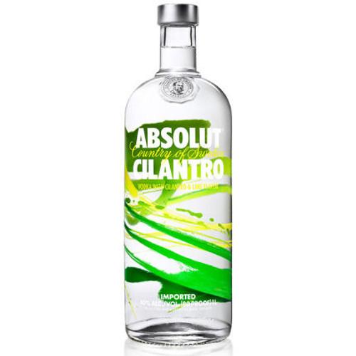 Absolut Cilantro Swedish Grain Vodka 750ml