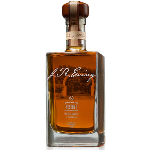 J.R. Ewing Private Reserve 4 Year Old Bourbon Whiskey 750ml