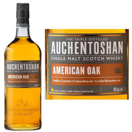 Auchentoshan American Oak Lowland Single Malt Scotch 750ml