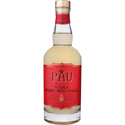 PAU Maui Hawaiian Vodka Infused with Cognac 750ml