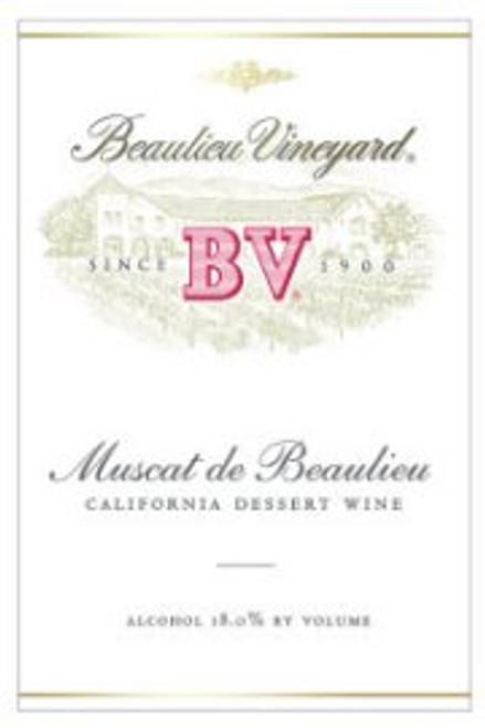 Beaulieu Vineyards California Muscat NV 375ML Half Bottle