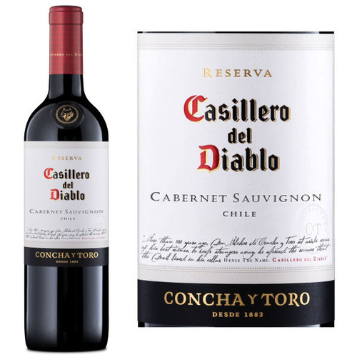 Concha Y Toro Casillero del Diablo Reserva Cabernet