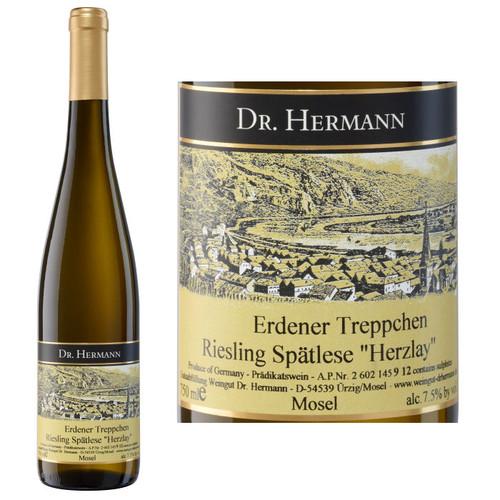 Dr. Hermann Erdener Treppchen Riesling Spatlese Herzlay