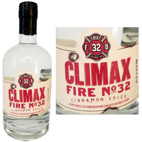 Climax Fire No. 32 Cinnamon Spice Moonshine