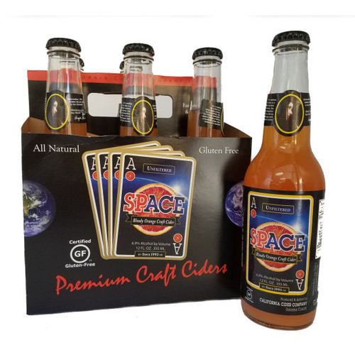 Ace Space Bloody Orange Craft Cider 12oz. 6 Pack