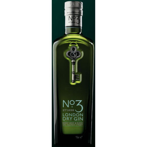 No 3 London Dry Gin 750ml