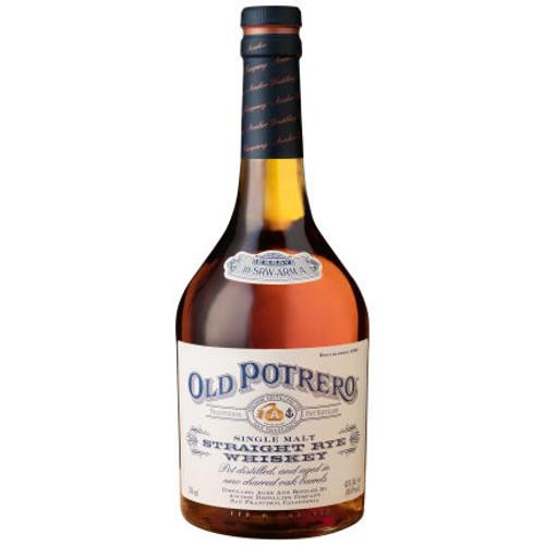 Old Potrero Single Malt Straight Rye Whiskey 750ml