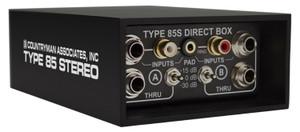 Type 85S Direct Box inputs