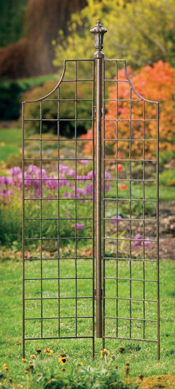 H potter two panel garden screen trellis weather resistant