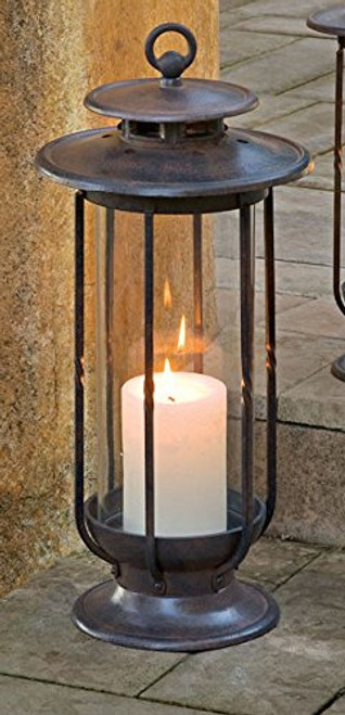 H Potter Large Decorative Hurricane Lantern Candle Holder Indoor Outdoor