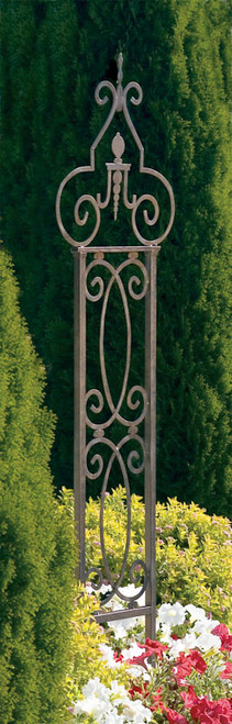 H Potter Garden Scroll Trellis Weather Resistant Wrought Iron