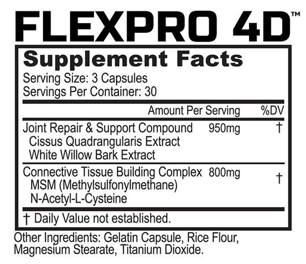 Recover Supplement Stack - Muscle and Joint Recovery