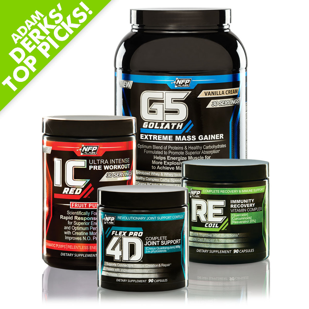 Adam Derks' Stack - Size, Power & Recovery
