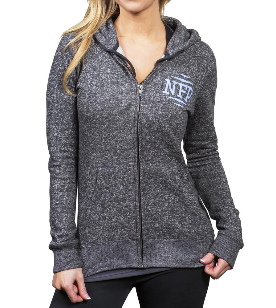 NFP Fitted Relentless Hoodie - Full Zip - Front