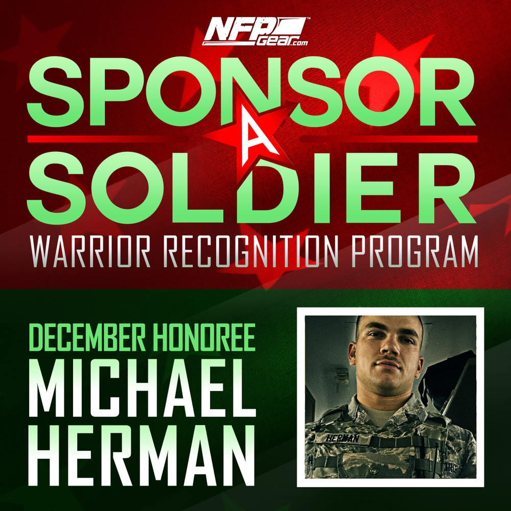 SPONSOR A SOLDIER WARRIOR RECOGNITION: Airman 1st Class, Michael Herman