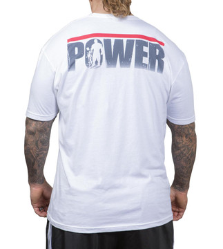 NFP Power T-Shirt White Men's - Back
