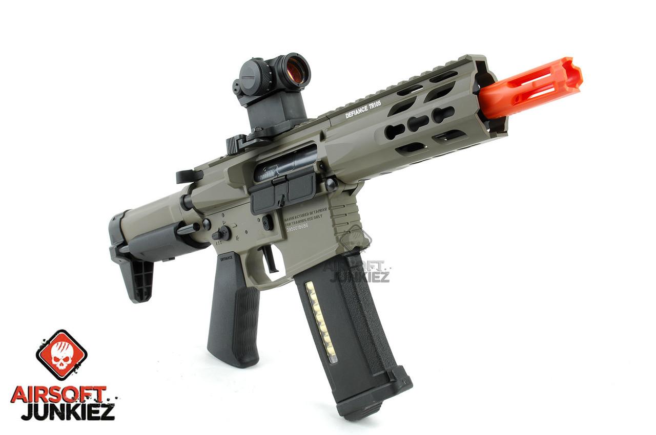 Krytac Full Metal Trident PDW Airsoft AEG Rifle -Dark Earth