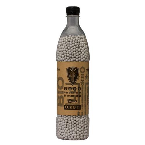 Bio-Degradable Elite force .28g BBs 5000 Bottle