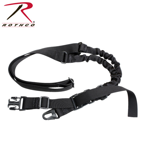 """Rothco Tactical Single Point Sling """"Black"""""""