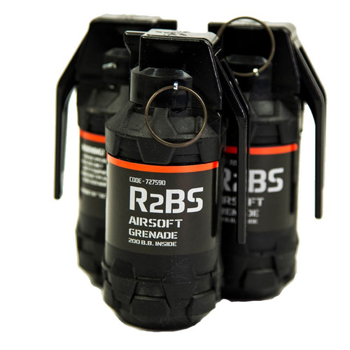 TAG R2BS AIRSOFT HAND GRENADE SET OF 6 (Pickup Only)