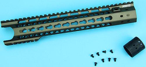 "G&P MOTS 12.5"" Keymod (Wire Cutter Design) (Sand)"