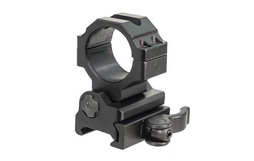 UTG 30mm Flip-to-Side, Picatinny/Weaver QD Ring Mount RG-MF30QS