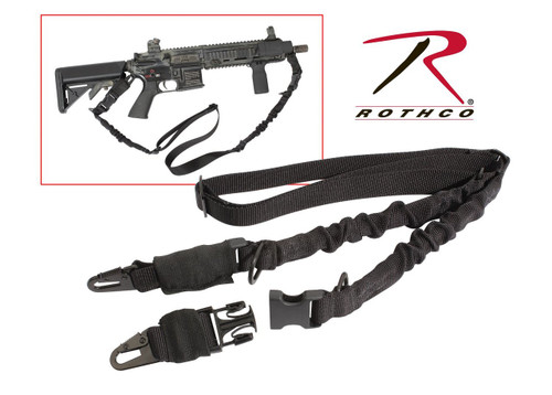 """Rothco Tactical 2 Point Sling """"BLACK"""""""