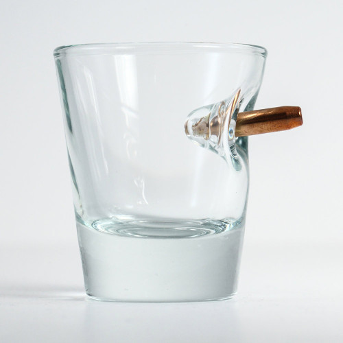 """Bulletproof"" Shot glass"