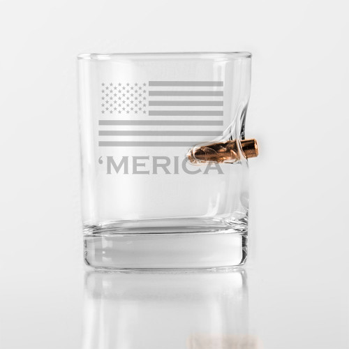 'Merica Rocks Glass 11oz