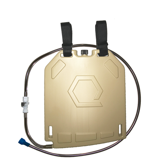 Qore Performance Ice Plate with QD line -- Tan