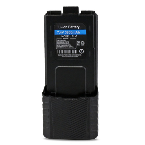 Baofeng battery-7.4V 3800mAh Extended battery for baofeng two way radios UV5X3 BF-F8HP UV-5R UV5R PLUS UV-5RTP BF-F8 BF-F8+