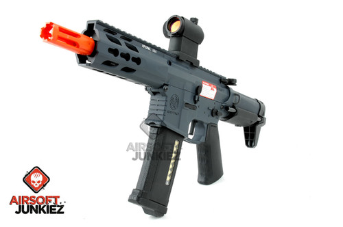 Krytac Full Metal Trident PDW Airsoft AEG Rifle - Wolf Grey Edition