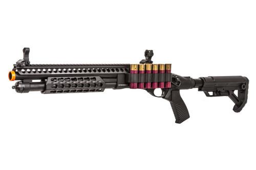 JAG ARMS SCATTERGUN SPX2 BLACK GAS SHOTGUN AIRSOFT