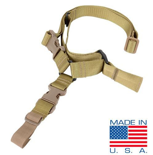 Condor Outdoor Quick One Point Sling (TAN)
