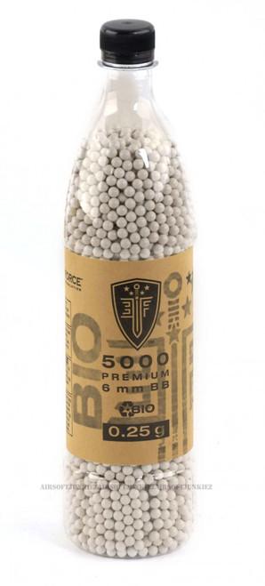 Bio-Degradable Elite force .25g BBs 5000 Bottle