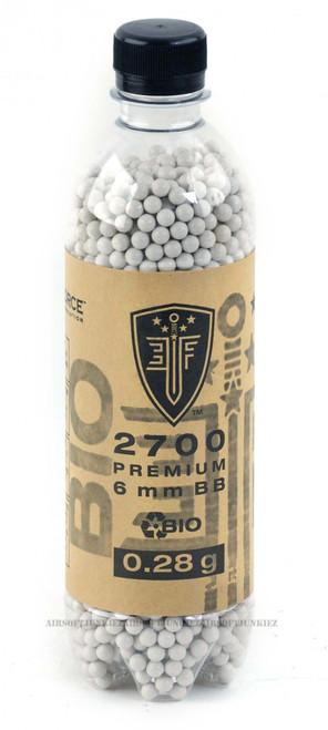 Bio-Degradable Elite force .28g BBs 2700 Bottle