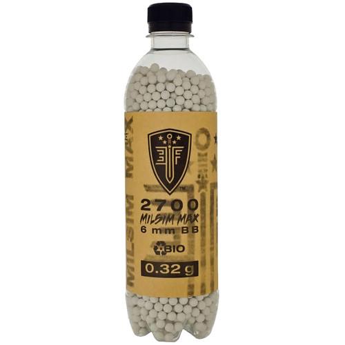 Bio-Degradable Elite Force .32g MilSim Max BBs 2700 Bottle