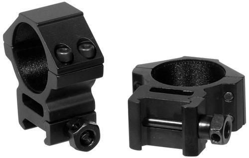 Picatinny/Weaver Medium Profile 2-piece 30mm Rings