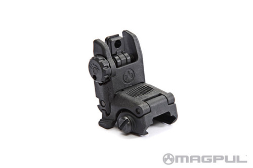 MBUS® - Magpul® Back-Up Sight – Rear GEN 2 BLK