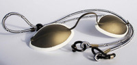 IS-015 Client Metal laser & IPL Eye Shields (Headstraps now white)