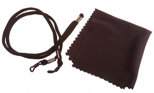 IPL Glasses Adjustable head strap & cleaning cloth