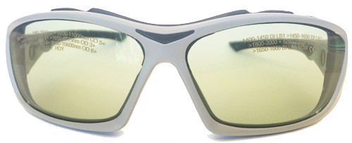 LG-090s Holmium Laser Safety Glasses - front View