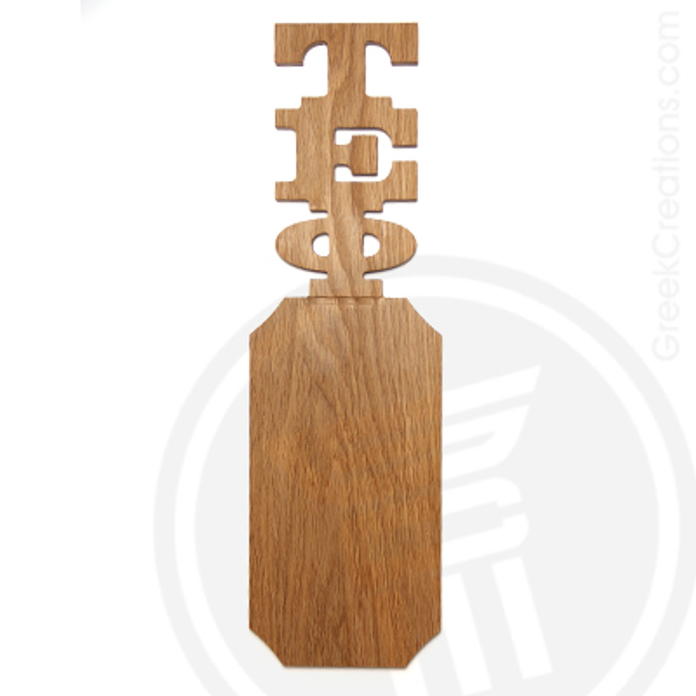 Tau Epsilon Phi 21 Inch Blank Greek Letter Paddle