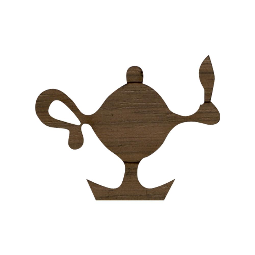 Wooden Lamp Symbol